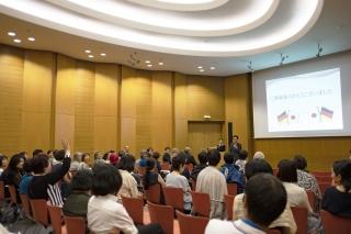 在ドイツ日本国大使館にて健康寿命講演会